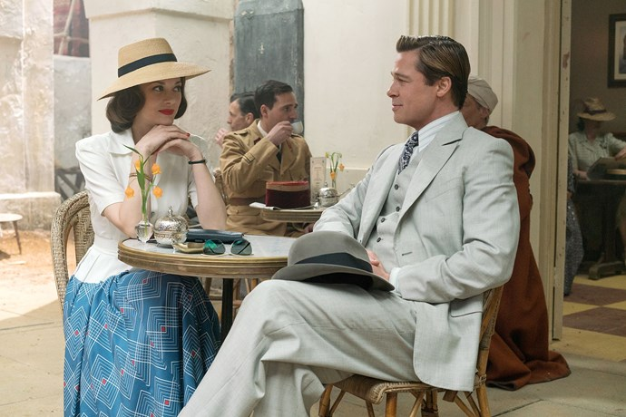 ***Allied* (30/12/2018):** In 1942, a Canadian intelligence officer in North Africa (Brad Pitt) encounters a female French Resistance fighter (Marion Cotillard) on a deadly mission behind enemy lines. When they reunite in London, their relationship is tested by the pressures of war.