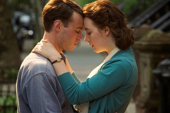 ***Brooklyn* (8/12/2018):** An Irish immigrant (played by Saoirse Ronan) lands in 1950s Brooklyn, where she quickly falls into a romance with a local. When her past catches up with her, however, she must choose between two countries and the lives that exist within.