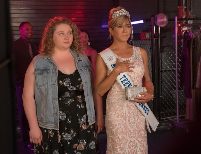 ***Dumplin'* (7/12/2018):** This movie follows Dumplin' (Danielle Macdonald), the plus-size, teenage daughter of a former beauty queen (Jennifer Aniston), who signs up for her mom's pageant as a protest that escalates when other contestants follow her footsteps, revolutionizing the pageant and their small Texas town.