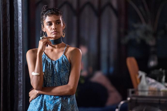 ***Tidelands* (14/12/2018):** The first Australian original Netflix series, *Tidelands* sees ex-con Cal McTeer return to her hometown Orphelin Bay and blow the lid off a generations-long conspiracy of silence around murder, drugs and sirens.