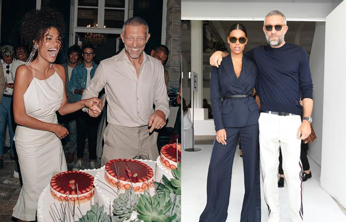 "***Vincent Cassel & Tina Kunakey*** <br><br> French actor Cassel wed Kunakey in a luxe wedding in France's Basque country earlier this year, and since then the couple have been redefining simple, effortless French style. What Kunakey does for slimline tailoring and [Jacquemus](https://www.harpersbazaar.com.au/travel/jacquemus-bubble-house-france-17079|target=""_blank"") dresses, Cassel does for sleek linen shirts and khaki—and we have no doubt their terrific style will continue into the new year."