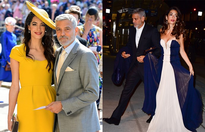 "***George & Amal Clooney*** <br><br> The Clooney couple (and parents of twins Ella and Alexander) have always been a stylish set, and their sartorial offerings in 2018 were no exception. Human rights lawyer Amal chose to support young British designer Richard Quinn at the [Met Gala](https://www.harpersbazaar.com.au/fashion/met-gala-2018-red-carpet-16427|target=""_blank""), and her Stella McCartney dress for the royal wedding was showstopping, especially alongside her husband's coordinating tie. Fact: the Clooneys' wardrobe choices never cease to amaze."