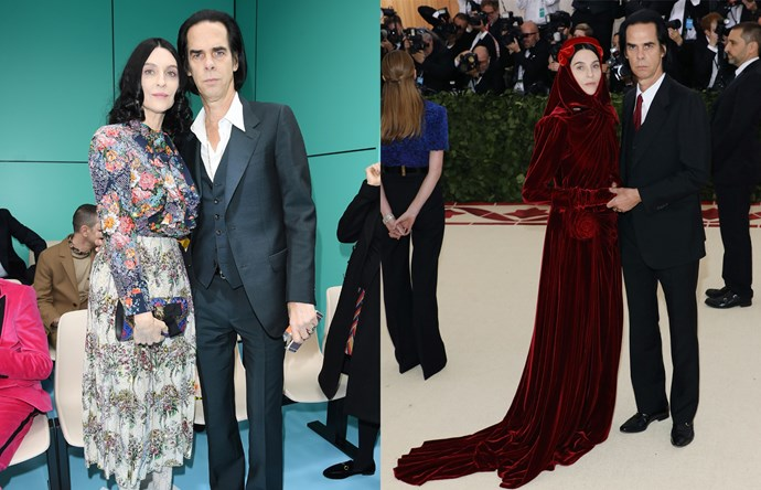 "***Nick & Susie Cave*** <br> The Caves have been fashion experimenters for years, but in 2018, they brought their effortless cool to a new generation. Musician Nick and his wife Susie, the founder of It-label [The Vampire's Wife](https://thevampireswife.com/|target=""_blank""