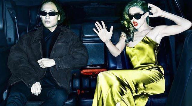 Alexander Wang and Gigi Hadid.