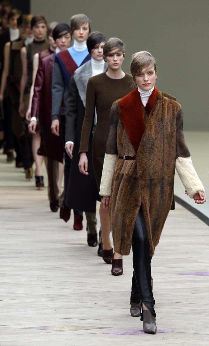 Celine Autumn/Winter 2011-2012 ready-to-wear.