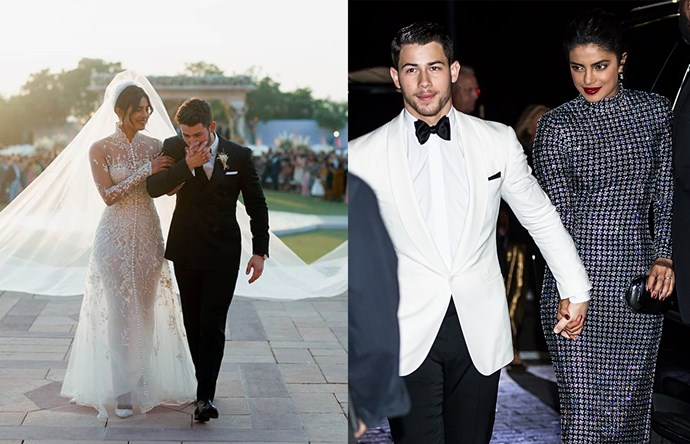 "***Nick Jonas & Priyanka Chopra Jonas*** <br><br> If we'd have done this list earlier in the year, Jonas and Chopra likely wouldn't have made the cut, considering their public outings as a couple were few and far between. Jonas and Chopra's multicultural approach to fashion has proven refreshing, and Chopra's Ralph Lauren [wedding dress](https://www.harpersbazaar.com.au/culture/priyanka-chopra-wedding-dress-details-17785|target=""_blank"") (featuring a 23-metre train) was the icing on the cake."