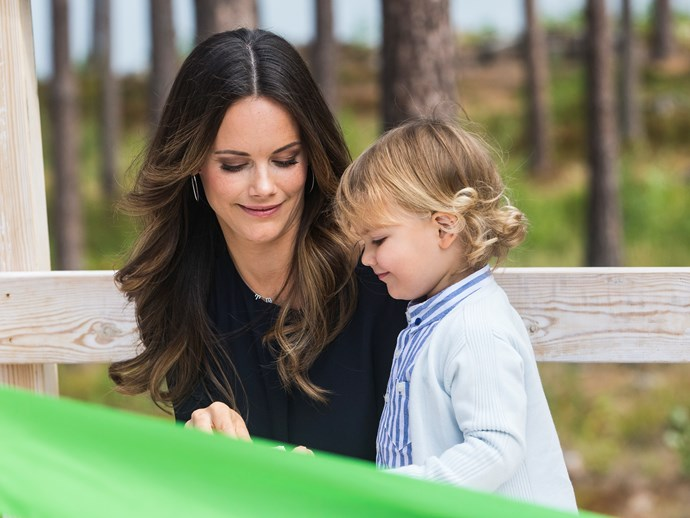 Princess Sofia and Prince Alexander.