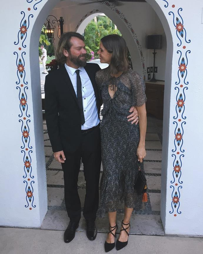 Amanda Callan and Andrew Morris.