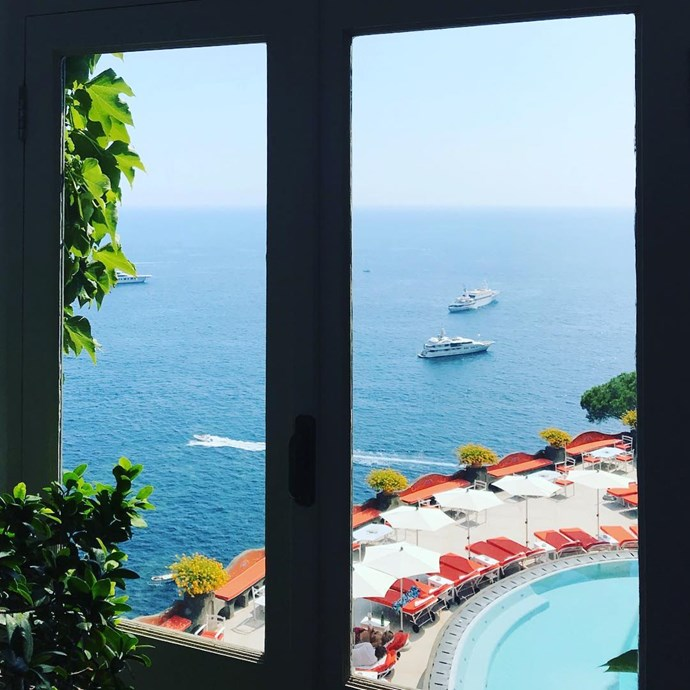 """***[Il San Pietro di Positano](http://www.ilsanpietro.it/en/ target=""""_blank"""" rel=""""nofollow"""")***: A popular choice for destination weddings, wellbeing enthusiasts and foodies, Il San Pietro even has its own private beach. Add in a bar by the sea, a private yacht and sunlit terraces and we're sold."""