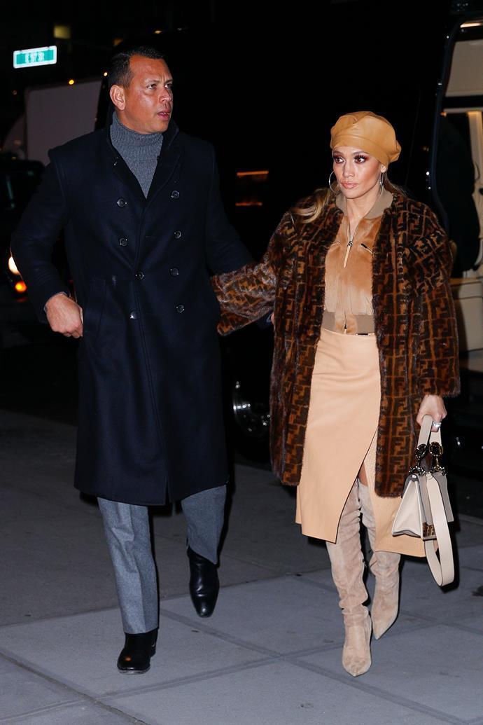 Jennifer Lopez in New York City on December 11, 2018.