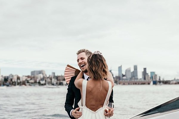 **On their vision for their day:** <br><br> We organised the wedding in two months. We didn't want to be fussy—and I'm definitely not the kind of girl who had planned a wedding in her head for years.