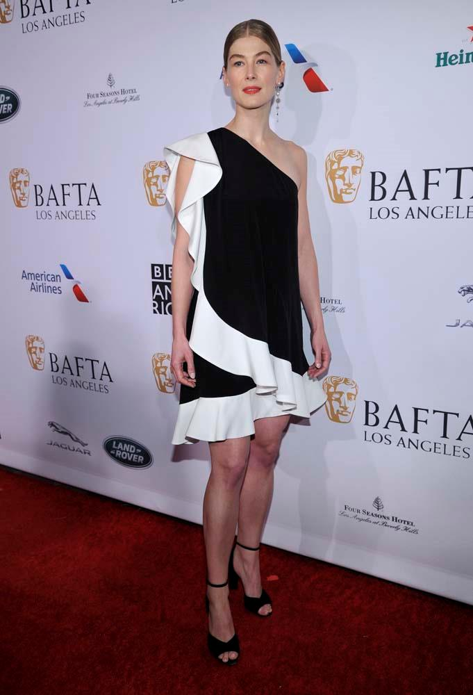 What The A-List Wore To The BAFTAs Tea Party | Harper's ...