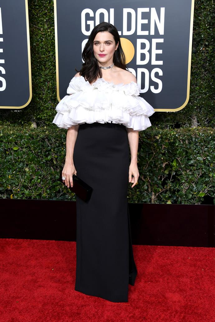 "**Rachel Weisz in Celine couture**<br><br> ""As far as I'm concerned *The Favorite* would have been a far better film if it were just 121 minutes of Rachel Weisz in this Celine dress."" *Elle McClure, culture director.*<br><br> ""It's well and truly time to embrace the new Celine because when it looks *this* good, you'd be silly not to."" *Samantha Wong, market editor.*<br><br> ""New Celine convert."" *Caroline Tran, fashion editor.*<br><br> ""I love Rachel Weisz in Celine Couture! If this is a signal of things to come, then we have a lot to look forward to in Hedi's couture debut this February."" *Grace O'Neill, fashion features director.*"