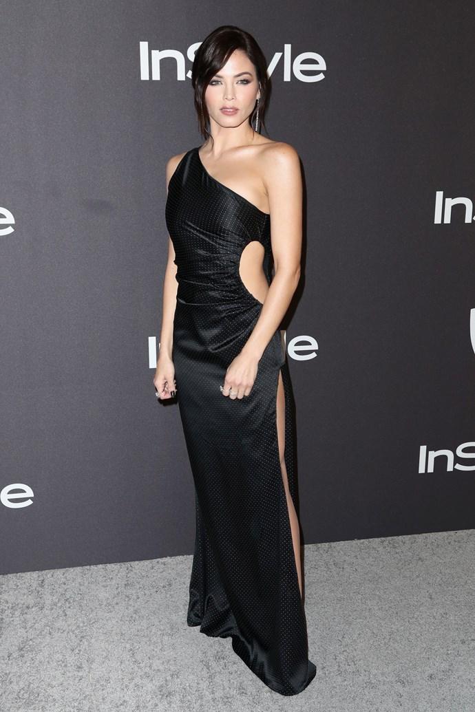 Jenna Dewan in Azzaro.