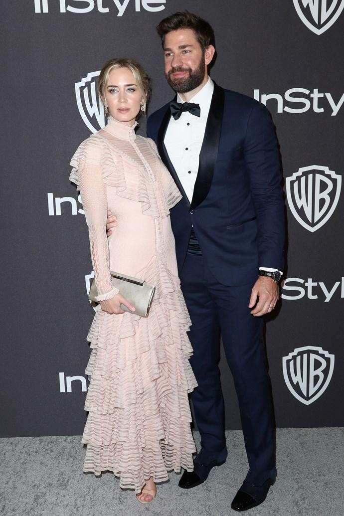 Emily Blunt and John Krasinski.