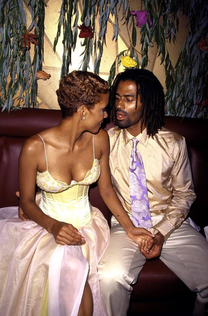 Halle Berry and ex-boyfriend Eric Benet in 2000.