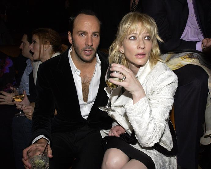 Tom Ford and Cate Blanchett in 2002.