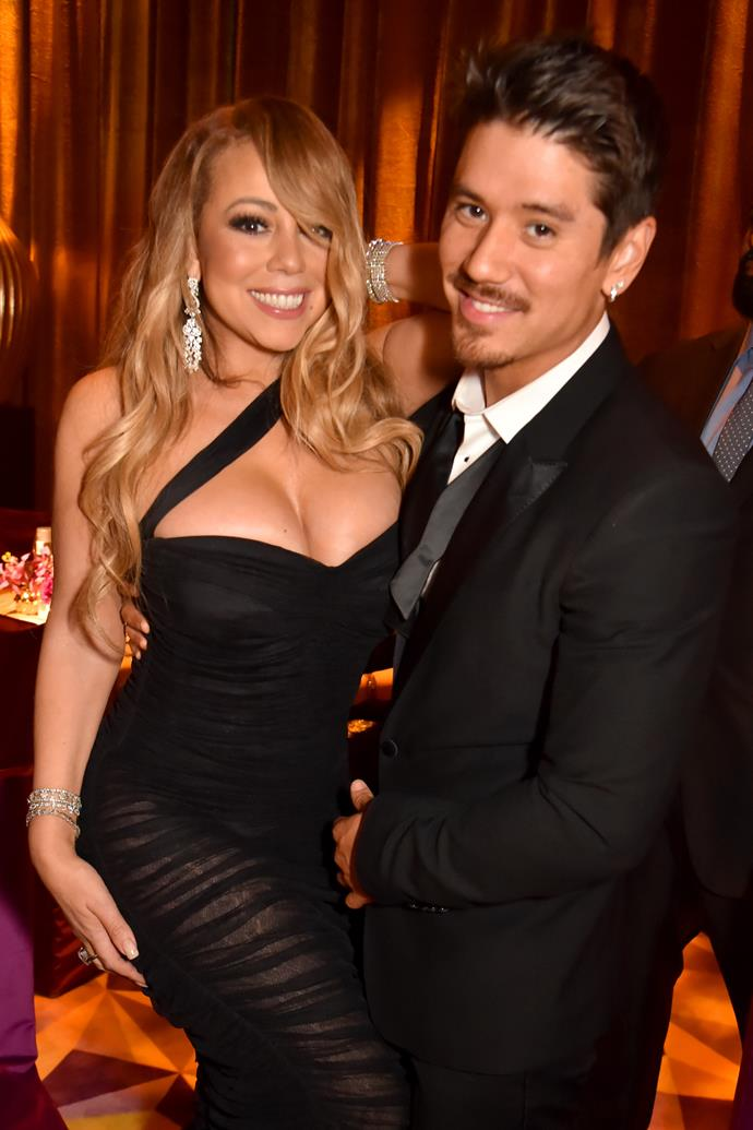 Mariah Carey and her boyfriend Bryan Tanaka in January 2018.