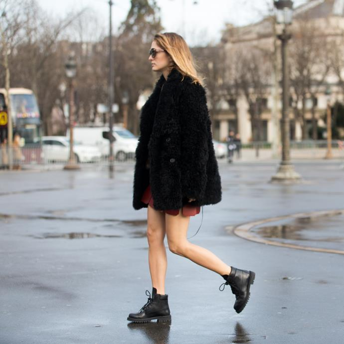 **Teddy coats** <br> Teddy coats are just as comfortable as they are versatile, and understandably made for a must-have winter piece last season—that is, until they became the most commonly worn coat of the year.
