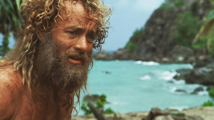 ***Cast Away* (1/1/2019)**  <br><br> A FedEx executive must transform himself physically and emotionally to survive a crash landing on a deserted island.