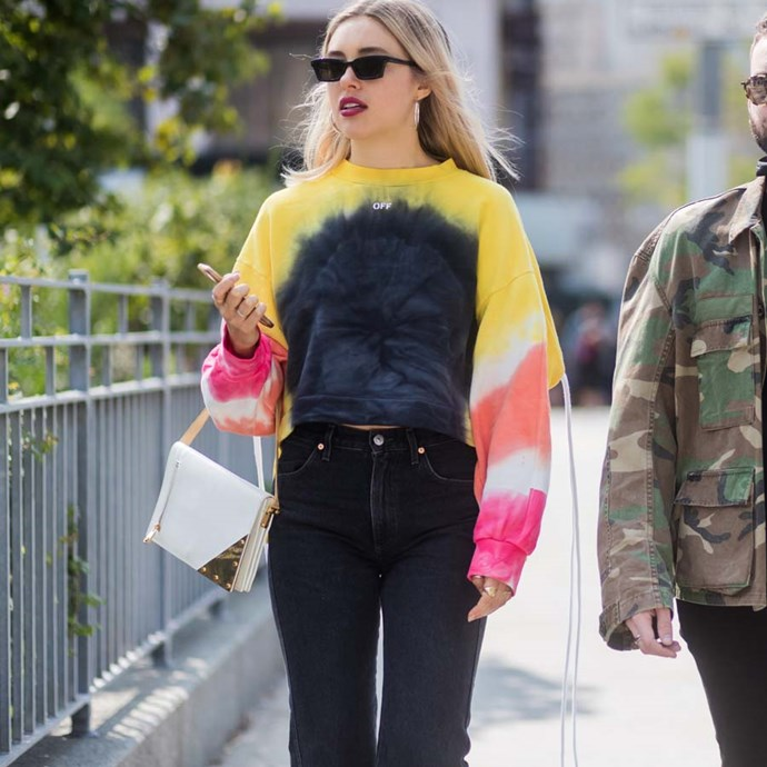 "*Something tie-dye*<br><br> Inject some levity into any outfit with a tie-dye piece. Breezy shirts, crisp tees, even a dress—colour is the key for Grace O'Neill.<br><br> ""Tie-dye was everywhere during SS'19 and I am well and truly on board. Chloé's tie-dye tees were my favourite, I'll be nabbing one as soon as they drop in-store."""