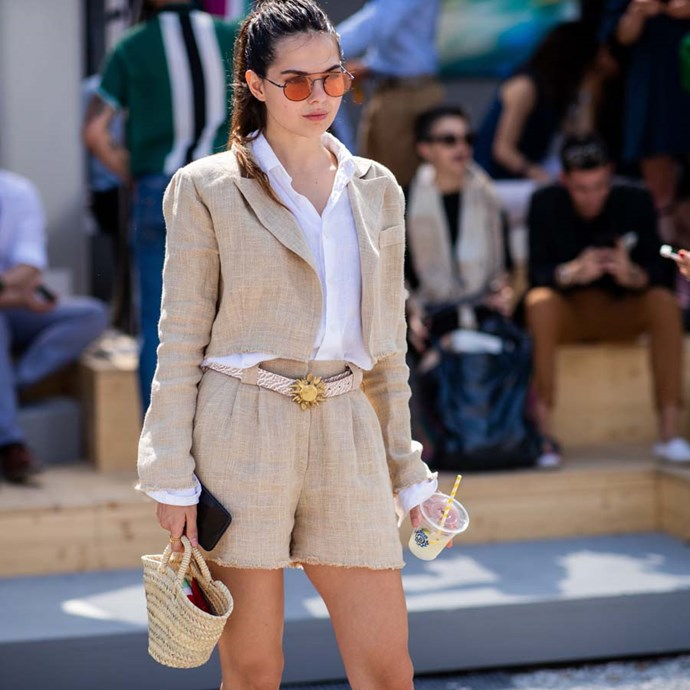 "*A pair of shorts* <br><br> After determining that, yes, [you can wear them to work](https://www.harpersbazaar.com.au/fashion/can-you-wear-shorts-to-work-17907|target=""_blank""), it's time to invest in a pair of good shorts. <br><br> ""I was against shorts, until I bought a pair, and now I have several pairs. Every top, blazer and shoe I own look chic with every style of short I have tried, and there really is nothing better than owning clothes that make getting dressed for work in the morning efficient and comfortable,"" says Nichhia Wippell."