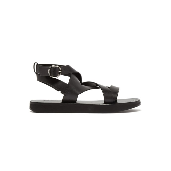 "*A chunky sandal*<br><bR> Sandals by Isabel Marant, $798 at [MATCHESFASHION.COM](https://www.matchesfashion.com/products/Isabel-Marant-Noelly-leather-crossover-sandals-1243183|target=""_blank""