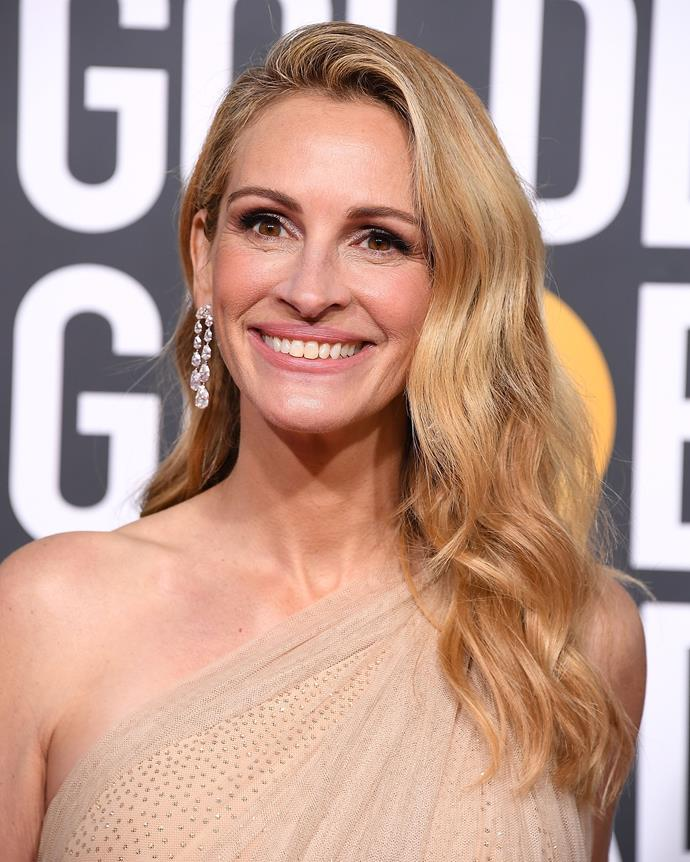Roberts at the Golden Globe Awards on January 6, 2019.