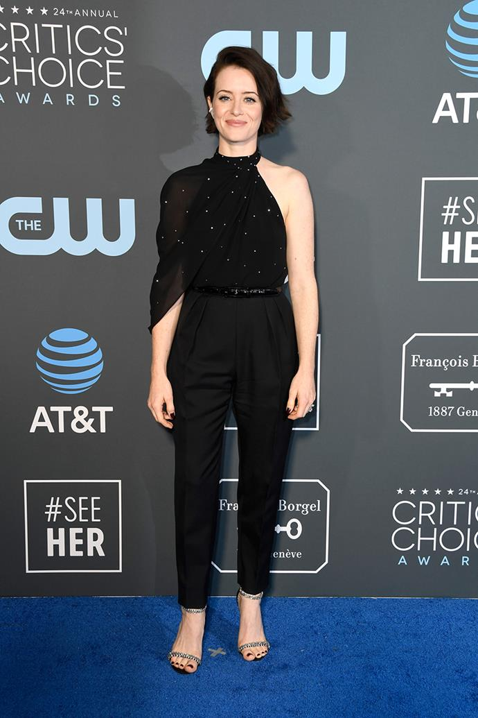 Claire Foy in Celine.