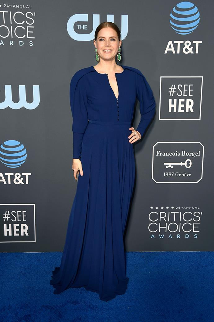 Amy Adams in Zac Posen.
