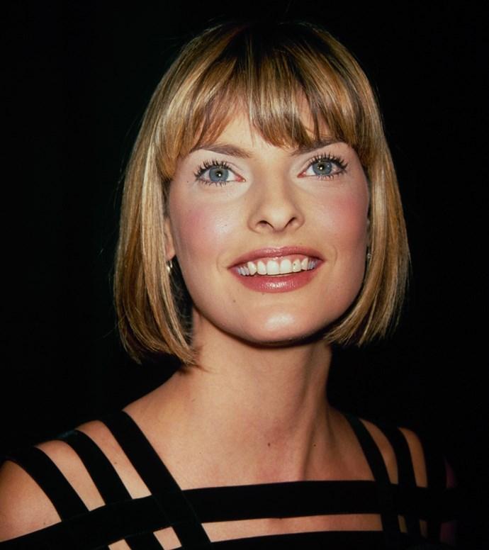 Linda Evangelista, 1990