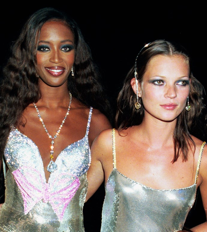 Naomi Campbell and Kate Moss, 1999