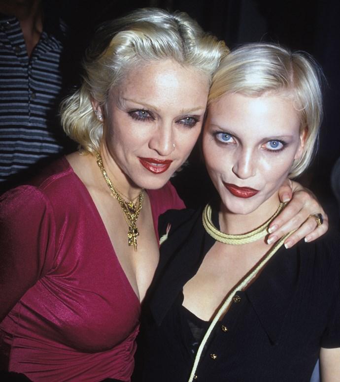 Madonna and Nadja Auermann, 1994