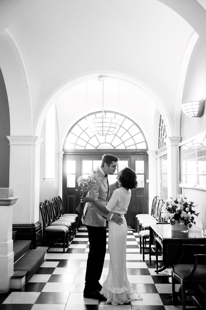 **On the location:** The innate charm of getting married at Chelsea Old Town Hall was too much to turn down. The historic and iconic nature of both the Town Hall and the Royal Borough of Kensington and Chelsea suited us completely. Not to mention the setting, inside and out, was completely stunning.
