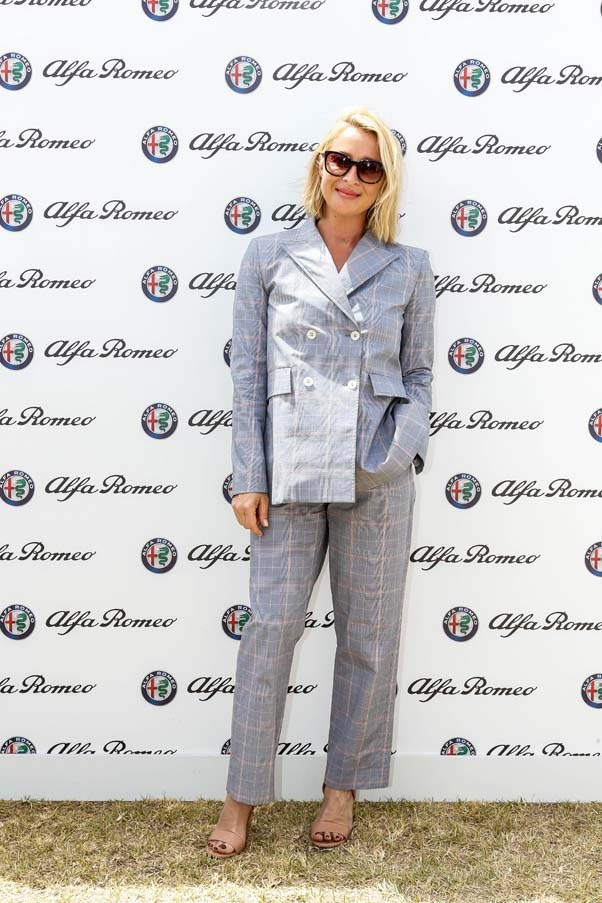 Asher Keddie in Scanlan and Theodore at the Alfa Romeo Marquee