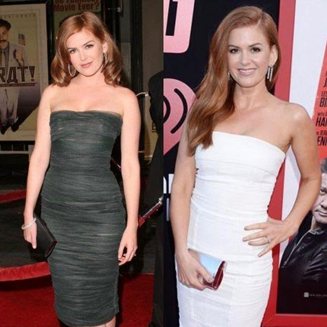 """***Isla Fisher*** <br> """"I was stretchmark/spanx/diaper free a decade ago #10yearchallenge"""" <br><br> *Image: [@islafisher](https://www.instagram.com/p/BspJht8h1p6/