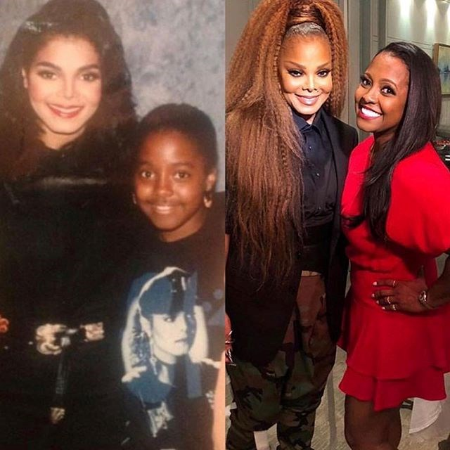 "***Janet Jackson*** <br> ""Challenge accepted #glowupchallenge #howharddidaginghityouchallenge"" <br><br> *Image: [@janetjackson](https://www.instagram.com/p/Bsly31Fh9EP/|target=""_blank""|rel=""nofollow"")*"