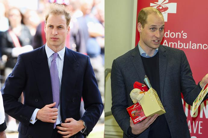 ***Prince William, Duke of Cambridge*** <br><br> In 2009, William was as much of a dreamboat as ever, and bore a striking resemblance to both his father, Prince Charles, and his late mother, Diana, Princess of Wales. <br><br> The king-in-training has barely aged over the past 10 years, aside from growing a little sparser on top—but hey, it happens to the best of men.