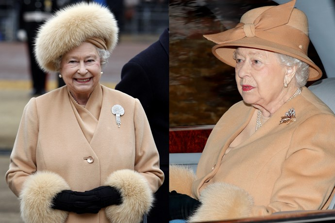 ***Queen Elizabeth II*** <br><br> Like her son Prince Charles, the Queen is the spitting image of her 2009 self. By the looks of things, she's clearly still a big fan of nude suits and furry cuffs paired with black gloves—which we'd probably wear every day if we were a British monarch.