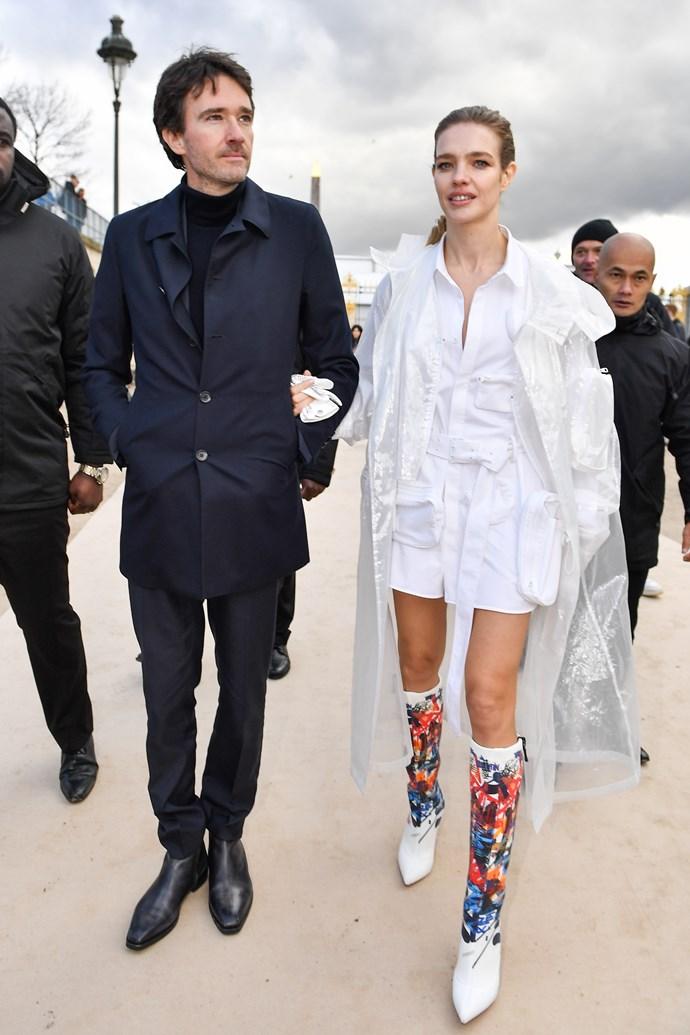 Antoine Arnault and Natalia Vodianova.