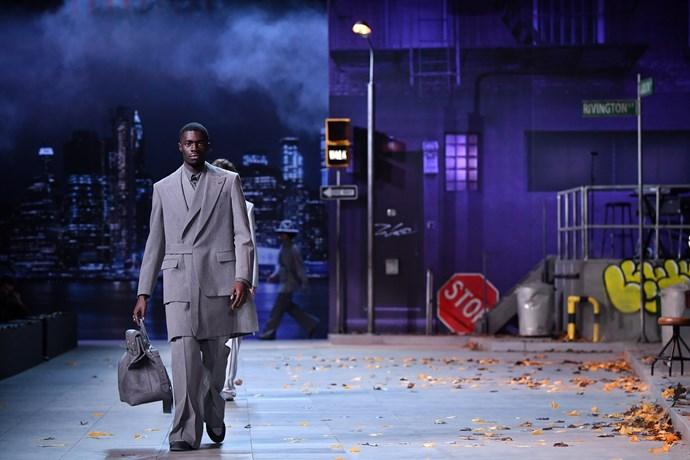 The set at Louis Vuitton Menswear autumn/winter '19.