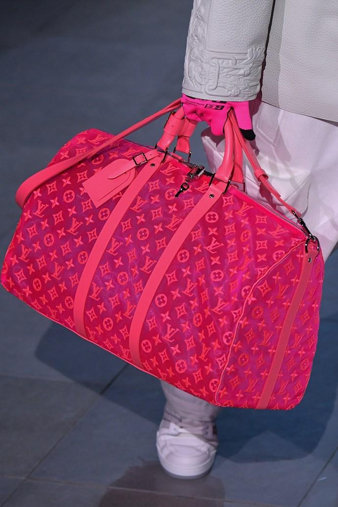 Accessories at Louis Vuitton Menswear autumn/winter '19.
