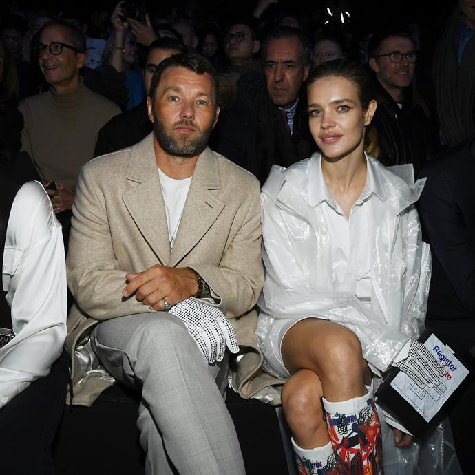 Joel Edgerton and Natalia Vodianova.