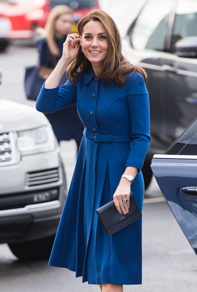 Kate Middleton, the Duchess of Cambridge, on November 14, 2018.