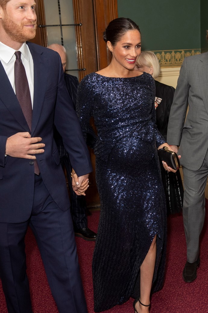Prince Harry and Meghan, Duchess of Sussex on January 16, 2019.