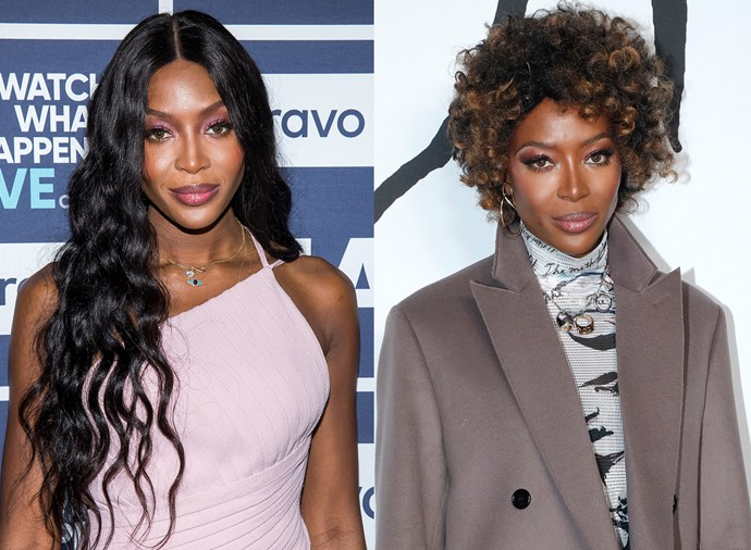 **Naomi Campbell** <br><br> The supermodel is known for switching up her hair on an almost weekly basis with wigs, extensions and everything in between, but we particularly loved the short, honey-hued curls she debuted at Paris Fashion Week.