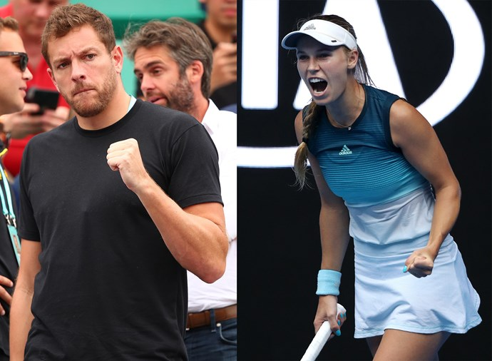 **David Lee, fiancé of Caroline Wozniacki** <br><br> Danish world No.3 Wozniacki has been engaged to Lee, a retired American professional basketball player, since late 2017, when Lee proposed on holiday in Bora Bora. She was previously engaged to golfer Rory McIlroy, but he broke up with her over the phone in 2014, only days after they'd sent their wedding invitations out. Wozniacki later said it was a blessing in disguise, especially given how happy she is with Lee, who rarely leaves her side as she travels around the world competing.
