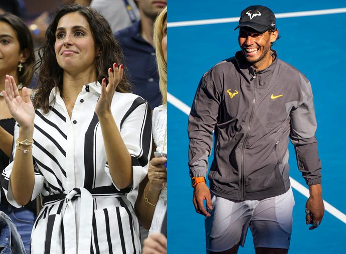 "**Xisca Perello, wife of Rafael Nadal** <br><br> One of the longest-lasting couples on the international tennis circuit, Perello and Nadal have been together since 2005, but she's a rare sight at his matches. Spanish like her sporting star husband, Perello is an insurance worker who prefers not to watch Nadal in action. ""He needs his space when he is competing, and just the idea of me hanging around and waiting on his needs all day tires me out,"" she told *The Telegraph*. The couple got married in a [stunning ceremony](https://www.harpersbazaar.com.au/celebrity/rafael-nadal-maria-francisca-perello-wedding-19466
