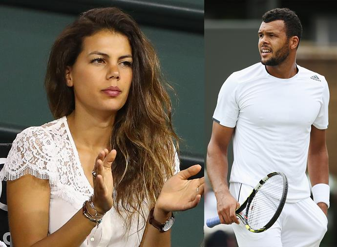 "**Noura El Swekh, wife of Jo-Wilfried Tsonga** <br><br> Tsonga, the French phenomenon, and Swekh, who is Swiss, married in July 2018, but they've been together since 2014. The pair welcomed their son, Sugar, in March 2017. Tsonga announced their union on Instagram with a sweet post captioned: ""We are family."""