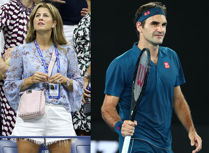 **Mirka Federer, wife of Roger Federer** <br><br> Swiss pair Mirka and Roger Federer are the sport's power couple, without a doubt. She's a former pro player herself, while he's the undisputed GOAT of the men's game. Mirka is doubly impressive because she raises not one, but two, sets of twins while travelling around the world to support her husband.